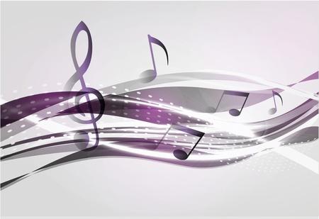 Música de fondo abstracto Foto de archivo - 11837549