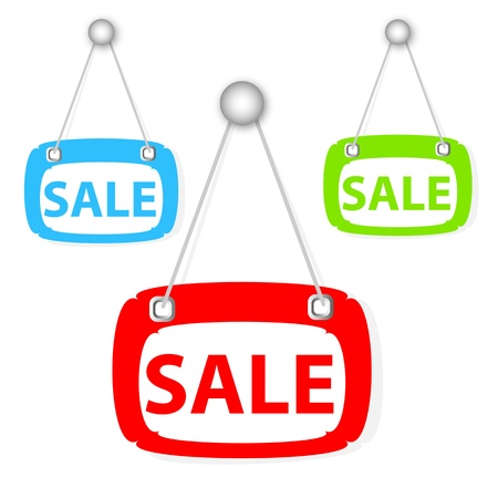 house clearance: Sale signboard