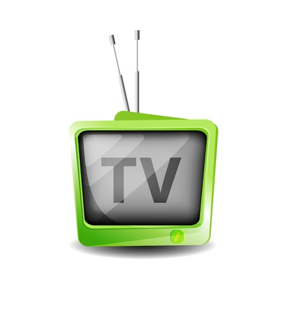 Retro TV  Stock Vector - 11837538