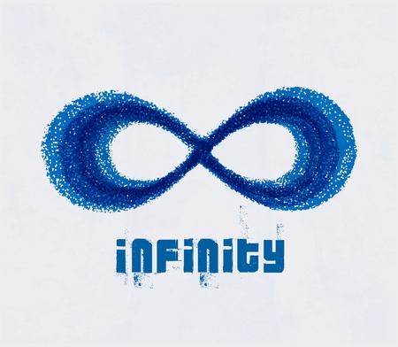 mobius: Infinity symbol. Illustration