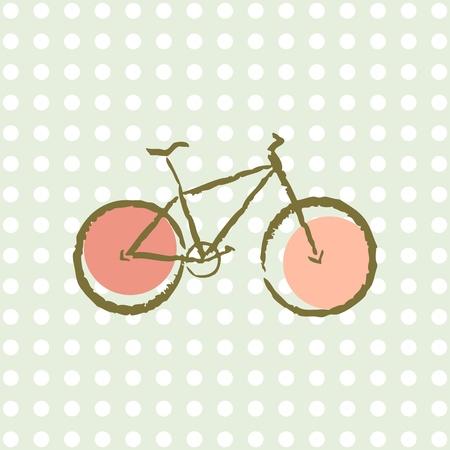 old retro bicycle Imagens - 11987113