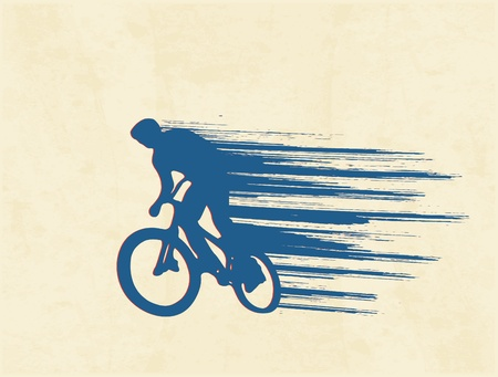 speed: bicyclist