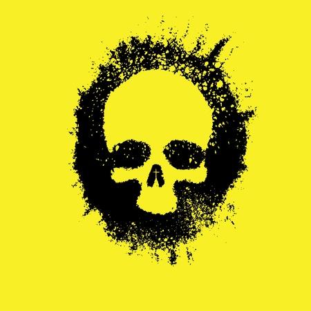 human face: Memento Mori, Skull