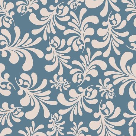 floral: seamless floral background