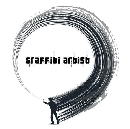 graffiti artist Vector