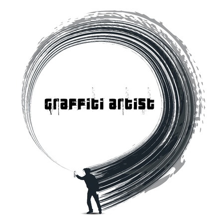 tagging: graffiti artist