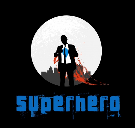 saviour: Superhero Background