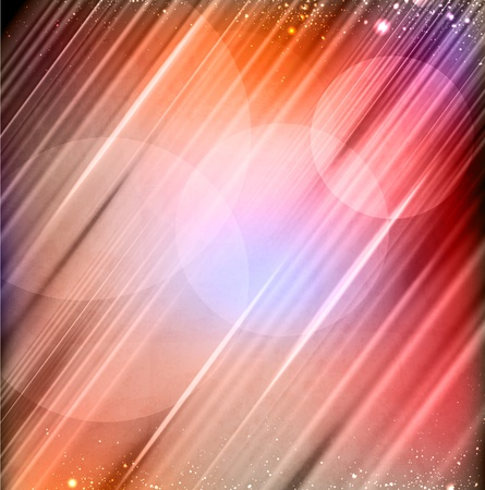 vector abstract lights background