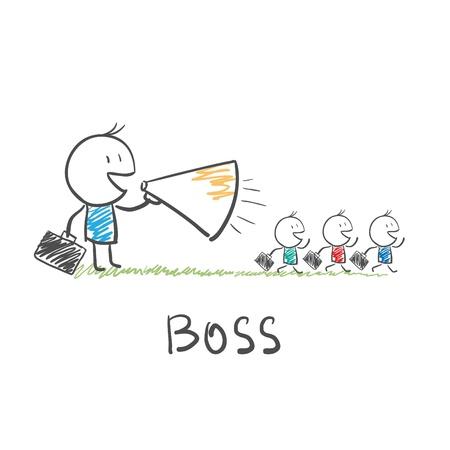 boss Stock Vector - 12351493