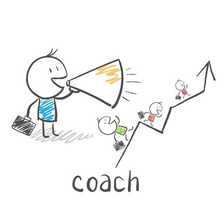 Coach de Negocios, el entrenador