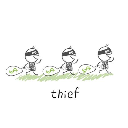 broke: thief