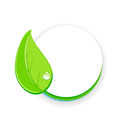 Green design symbol photo