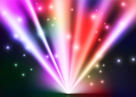 vector abstract lights background Stock Photo - 12714941
