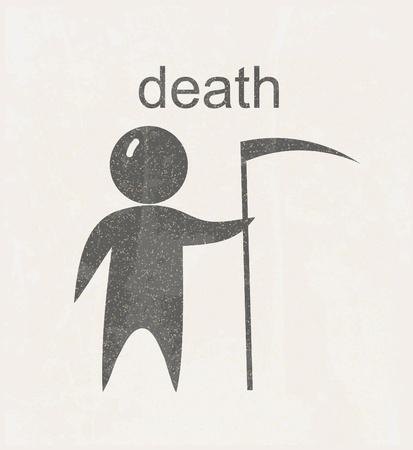 guadaña: Muerte signo
