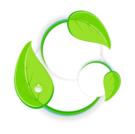 Green design symbol Vector