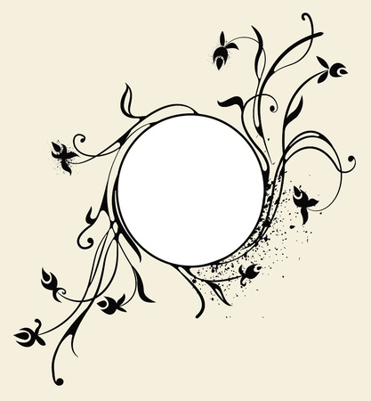 swirly background Vector