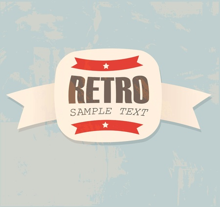 Retro label Stock Vector - 13003613