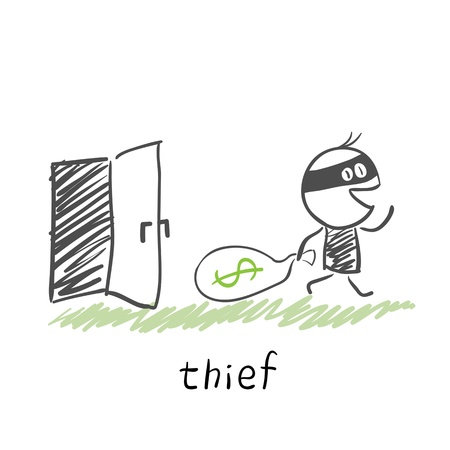 thief Stock Vector - 13272450