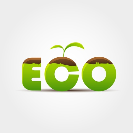 ECO concept Stock Vector - 13433093