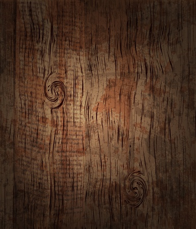 Old Wood Background Vector