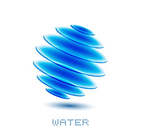 waterdrop: water symbol Illustration