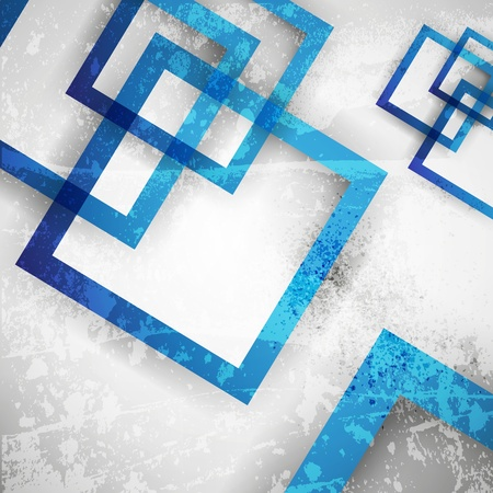 color effect: blue abstract background
