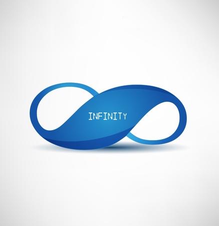infinite shape: infinity symbol