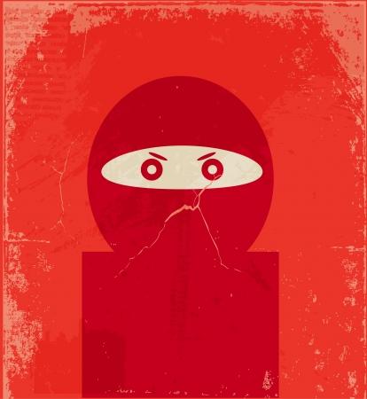 Ninja Stock Vector - 13966438