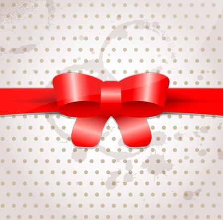 celebratory: Celebratory background with bow