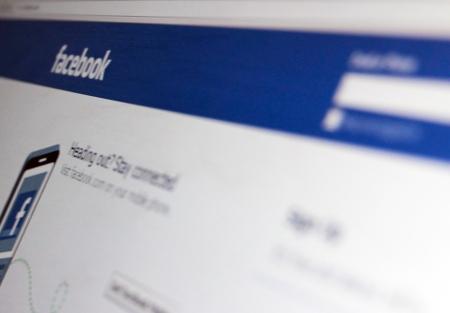 Homepage of Facebook.com, the global social network on June 21, 2012 in Kiev, Ukraine