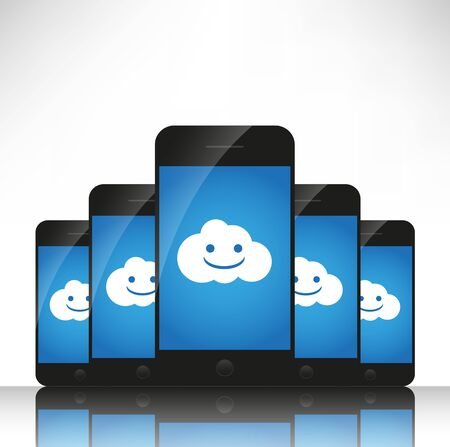centralized: Cloud computing on mobile