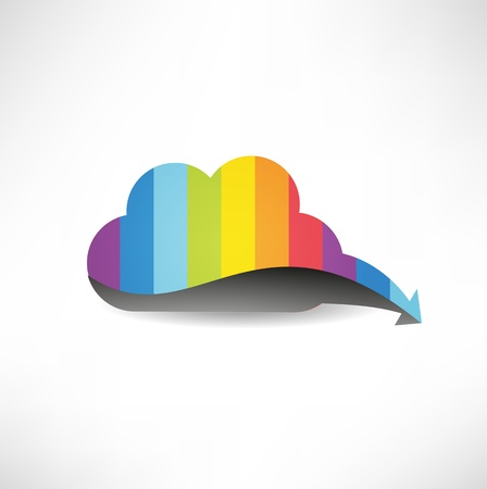 cloud: Cloud computing. The concept of storing and transmitting information, media content.