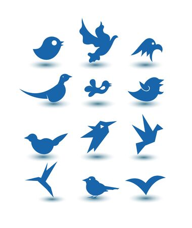 bird icons photo