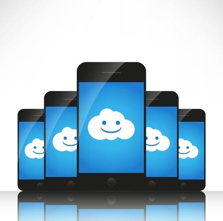 Cloud computing on mobile photo