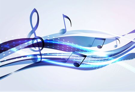 Abstract music background Stock Photo - 14276383