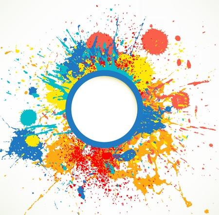 decoration messy: Ink Splash
