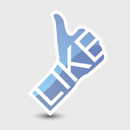 Like symbol. Thumb Up. Stock Photo - 14275763