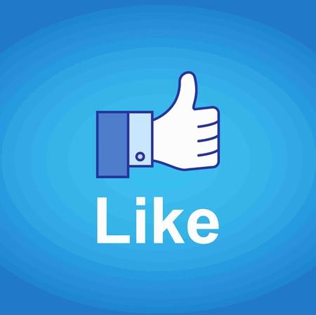 Thumb Up. Like concept Stock Photo - 14275625