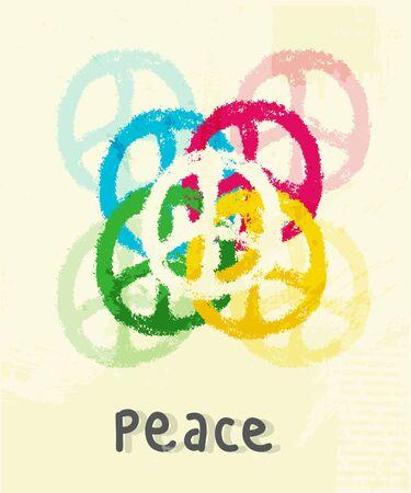 illustration of peace sign illustration