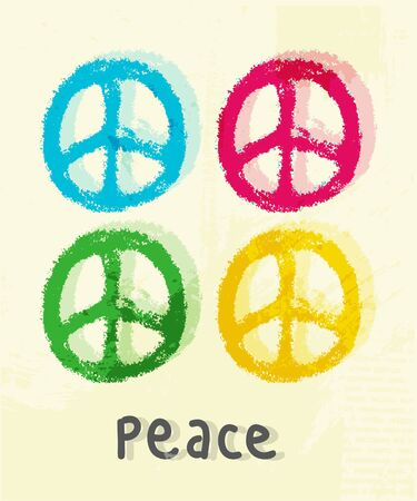 illustration of peace sign illustration