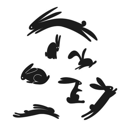 conejo caricatura: Conejo Foto de archivo