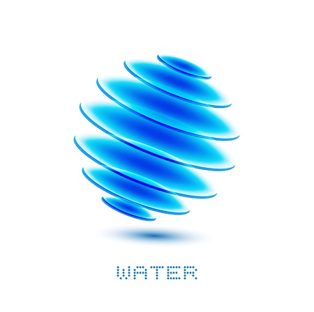 water symbol Stock Photo - 14276105