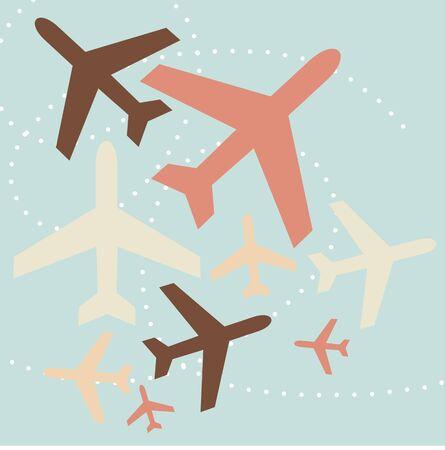 airplane background