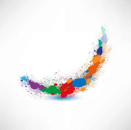 Ink Splash wave Vector