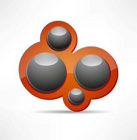 Кнопки: Аннотация пузырь дизайн