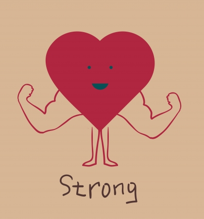 strong: strong heart
