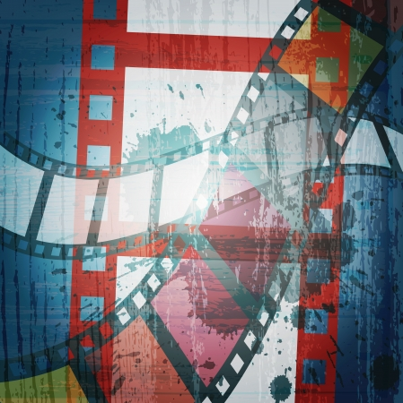 oldies:  grunge film strip