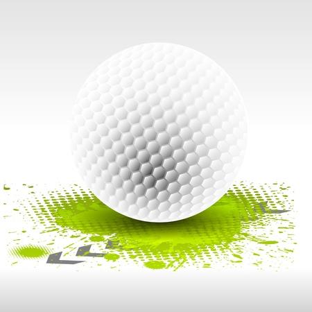골프 디자인 요소 일러스트