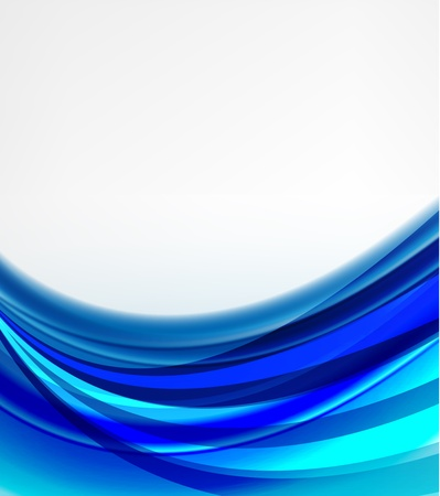 footer: abstract blue background Illustration