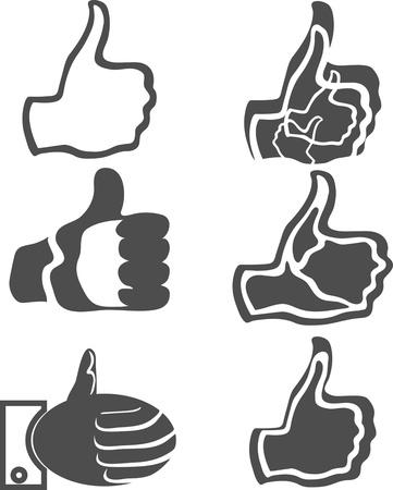 thumb up Illustration